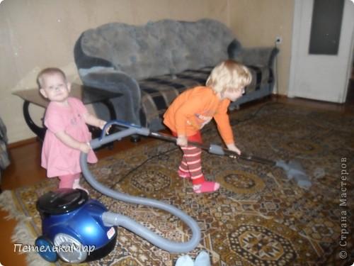 Рассказ о том как мои детки помогают мне по дому! фото 4