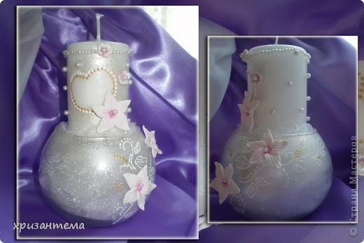Свадебные свечи. фото 2