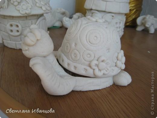 Вот такая черепашка у меня теперь живёт. Спасибо Юлии Русаковой http://stranamasterov.ru/node/55420 фото 2