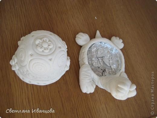 Вот такая черепашка у меня теперь живёт. Спасибо Юлии Русаковой http://stranamasterov.ru/node/55420 фото 5