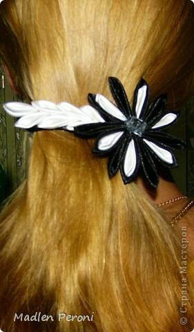 Хризантемка- заколочка для Кристины фото 1