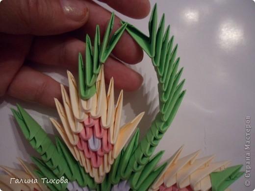 Немного фантазии и получился вот такой павлин с ажурным хвостом. Мастер-класс: http://masterica.maxiwebsite.ru/archives/5652#more-5652 фото 13