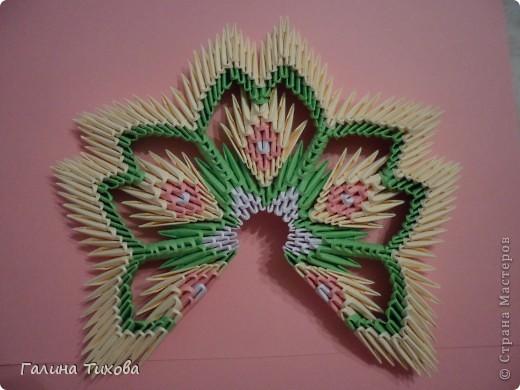 Немного фантазии и получился вот такой павлин с ажурным хвостом. Мастер-класс: http://masterica.maxiwebsite.ru/archives/5652#more-5652 фото 17