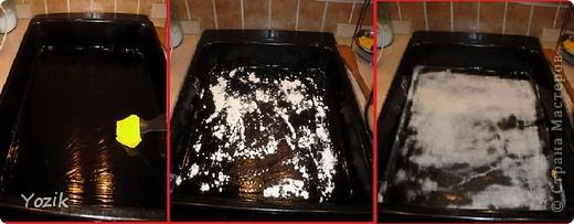 Это мой первый МК, эксперементировала с фото, так что за качество прошу прощения заранее. когда-то я купила сливки для взбивания и для их пробы решила испечь самый простой бисквит, еще у меня остались киви, попробовала со сливками, получилось вкусно. Когда началась клубника, добавила и ее, а однажды, когда делала такой торт у меня оказался творог под рукой, так и родился данный рецепт. фото 3