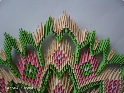 Немного фантазии и получился вот такой павлин с ажурным хвостом. Мастер-класс: http://masterica.maxiwebsite.ru/archives/5652#more-5652 фото 32