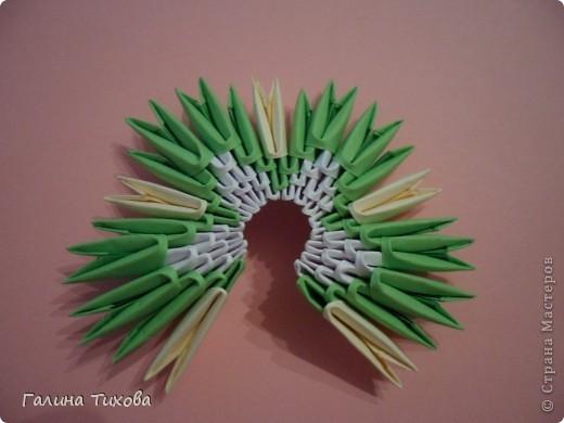 Немного фантазии и получился вот такой павлин с ажурным хвостом. Мастер-класс: http://masterica.maxiwebsite.ru/archives/5652#more-5652 фото 5