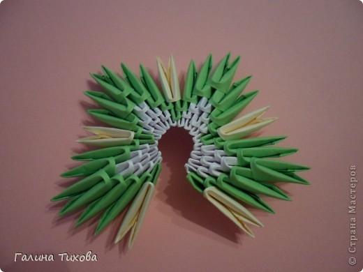 Немного фантазии и получился вот такой павлин с ажурным хвостом. Мастер-класс: http://masterica.maxiwebsite.ru/archives/5652#more-5652 фото 6