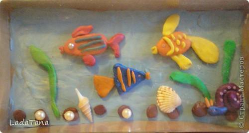Пластилиновые рыбки