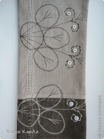 Ещё один вариант, как можно удлинить и украсить старые, но любимые брючки.... фото 2