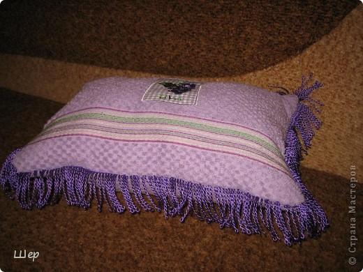 Вот такая подушечка для сна у меня сшилась за час работы))) фото 2