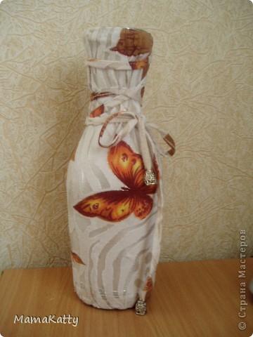 Моя бабочковая ваза))) фото 1
