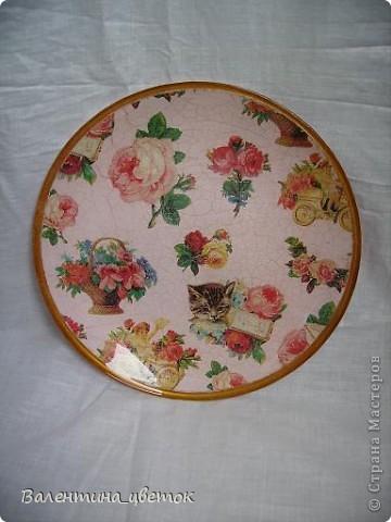 Тарелка фото 1
