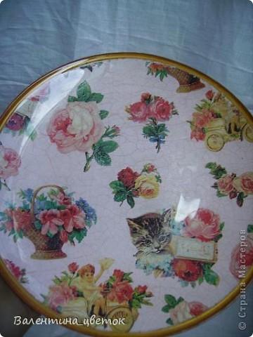 Тарелка фото 2