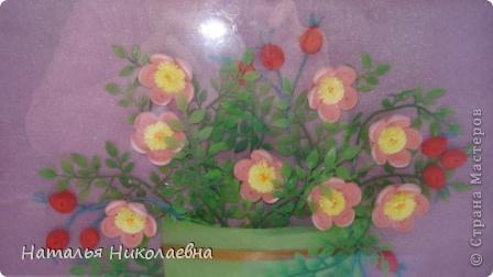 Гибискус - мой самый любимый комнатный цветок, вот он в квиллинге фото 7