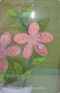 Гибискус - мой самый любимый комнатный цветок, вот он в квиллинге фото 2