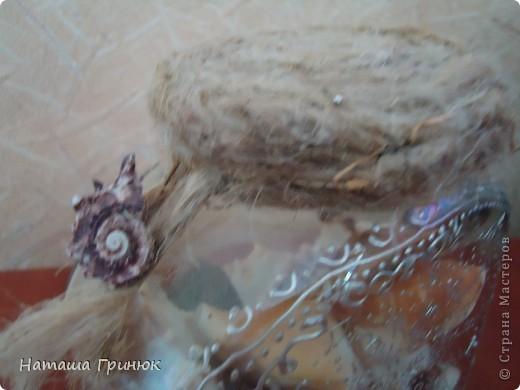 Ето работы моей тети Ларисы.Она рисует маслом,работает контуром по стеклу,лепит из соленого теста,создает икебаны,немного делает свечи и делает венки из виноградной лозы и многое другре(сразу и не вспомниш) фото 5