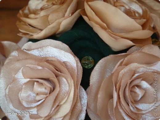 """Топиарий """"Чайные розы"""" - подарок для любимой свекрови фото 4"""