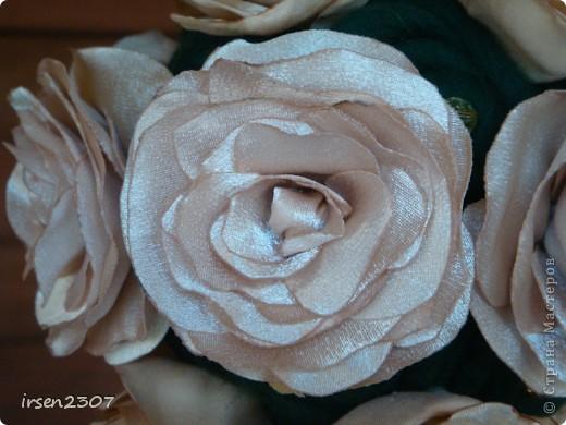 """Топиарий """"Чайные розы"""" - подарок для любимой свекрови фото 2"""