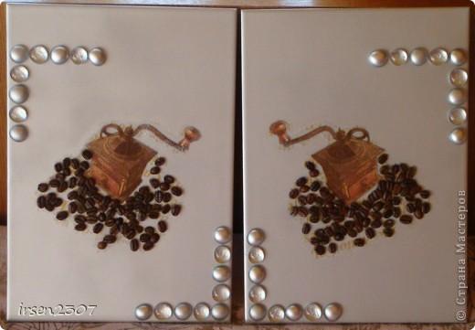 Кофейное панно для кухни фото 1