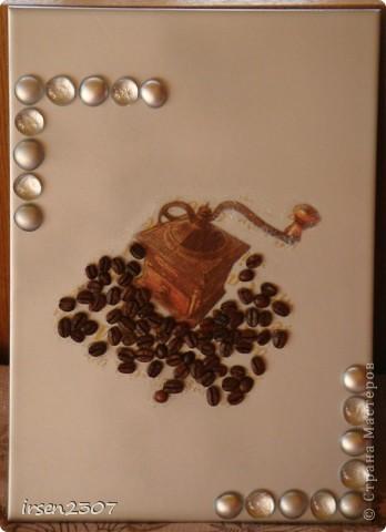 Кофейное панно для кухни фото 2