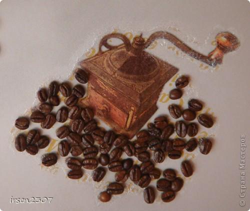 Кофейное панно для кухни фото 4