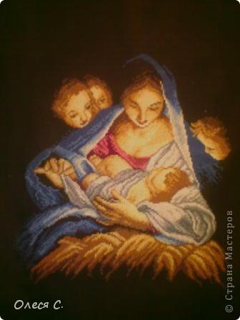 "Картина ""Мать и дитя"" фото 1"