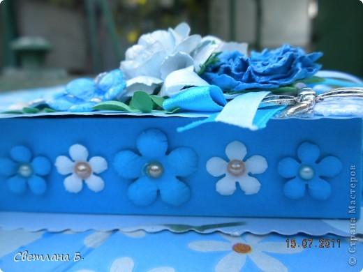 Всем привет! Вот, наконец, и я решилась сделать коробочку. Сделала по этому МК-  http://altered-art.blogspot.com/2011/07/6-express-challenge-6-origami-box.html . В Стране Мастеров есть несколько МК коробочек-оригами: http://stranamasterov.ru/node/151768  ; http://stranamasterov.ru/node/134778     .  На создание моей коробочки меня вдохновили девушки: Konfeta http://stranamasterov.ru/node/214589?c=favusers  и YuliaM  http://stranamasterov.ru/node/214143?c=favusers . Раньше я опасалась делать что-то в технике оригами, но напрасно, оказалось это совсем не сложно.  фото 5