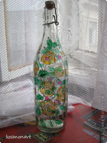 Бутылочка(Витраж)