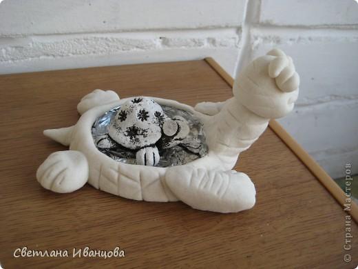 Вот такая черепашка у меня теперь живёт. Спасибо Юлии Русаковой http://stranamasterov.ru/node/55420 фото 6