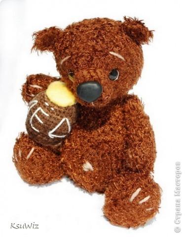 Доброе время суток! Под впечатлением от медвежат Евгении Аксеновой (http://bearsforpeople.blogspot.com) связался такой вот сладкоежка =) фото 1