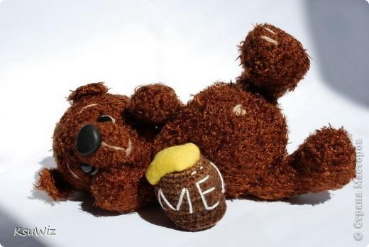 Доброе время суток! Под впечатлением от медвежат Евгении Аксеновой (http://bearsforpeople.blogspot.com) связался такой вот сладкоежка =) фото 6