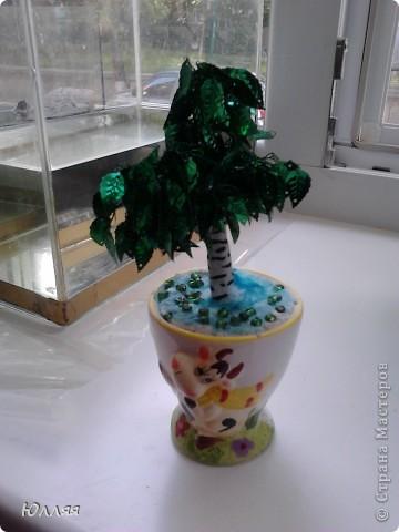Первое деревце которое я попробывала сделать. фото 3