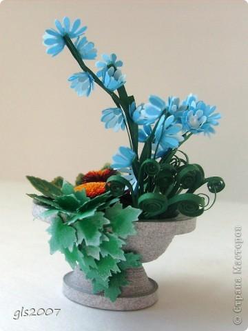 "Еще одна ""мраморная"" ваза из сада - плод сегодняшней ночи :)) фото 2"