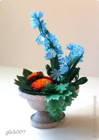 "Еще одна ""мраморная"" ваза из сада - плод сегодняшней ночи :)) фото 1"