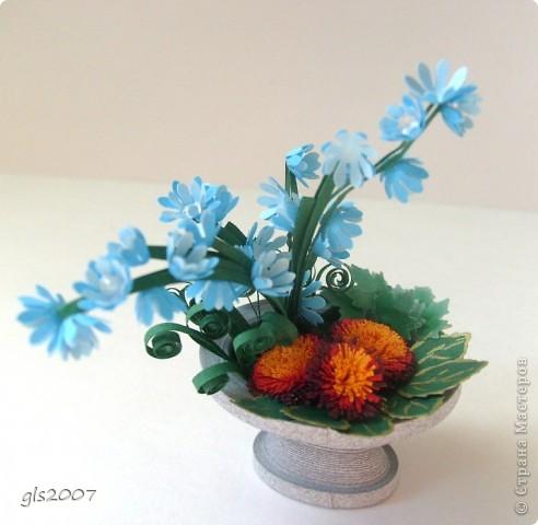"Еще одна ""мраморная"" ваза из сада - плод сегодняшней ночи :)) фото 4"