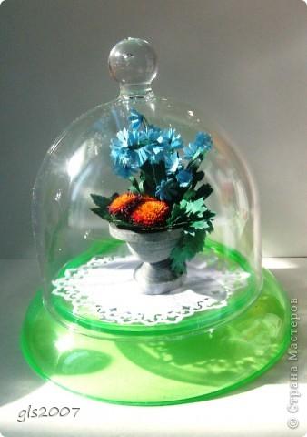 "Еще одна ""мраморная"" ваза из сада - плод сегодняшней ночи :)) фото 5"