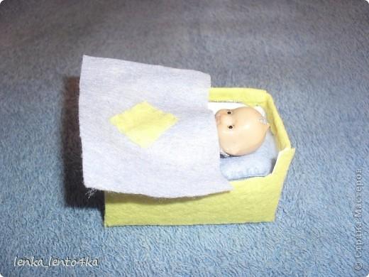 Вот наш первый дом.Он маленький,в обувной коробке,но и жильцы небольшие. фото 8
