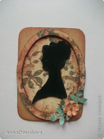 Вот такие силуэты у меня получились. Серия из 8-ми карточек. Сначала отдаю долги Веронике (Пчелка Жужа), Алене (АлЁнА. К), Лидии Петровне (hobby66) и Бакановой Татьяне. А ещё Ксении (Ксюша Токалка) фото 8