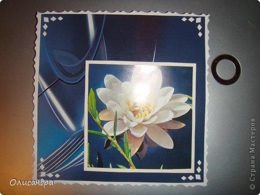 """Девочки! Как называется этот цветок? ******************************************* Окрыленная положительными отзывами, решила повторить свой эксперимент... и сделать еще одну открытку-стойку... Т.е. хотела ,просто, повторить то,что уже делала,но с другой картинкой... http://stranamasterov.ru/node/215641  Т.е. думать не хотелось, хотелось сделать быстренько... Но, кажется, быстренько я не умею...  Опять """"муки творчества"""" длились до середины ночи... фото 8"""