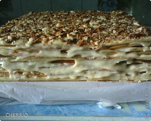 Это  торт наполеон. фото 2