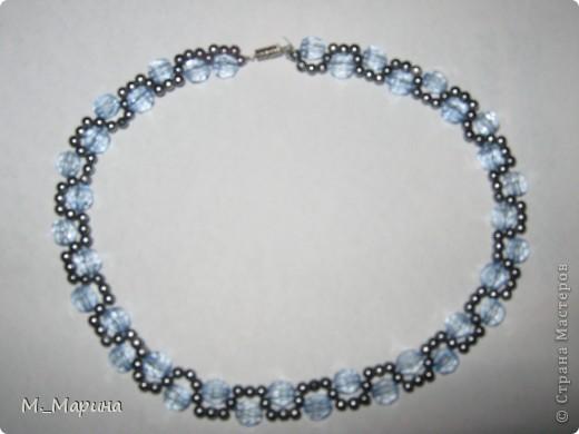 ожерелье смастерила моя младшая дочь фото 2
