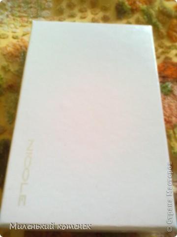С первого взгляда это обычная коробочка,но внутри  есть секрет!=) фото 1