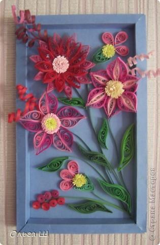 Панно из цветов фото 1