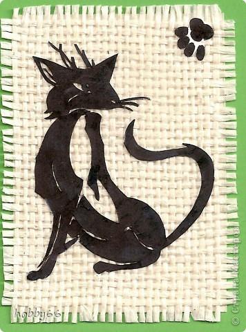 Кошачье дефиле прдолжается... Вытынанка. Закрыта. фото 10