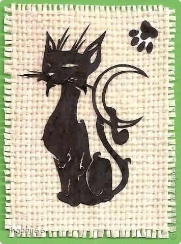 Кошачье дефиле прдолжается... Вытынанка. Закрыта. фото 4