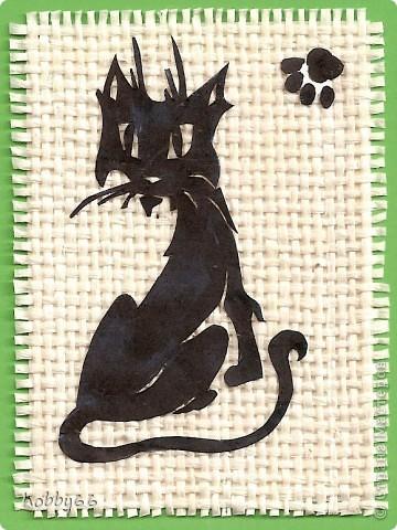 Кошачье дефиле прдолжается... Вытынанка. Закрыта. фото 9