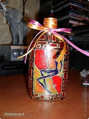 Вазочка-бутылочка фото 1