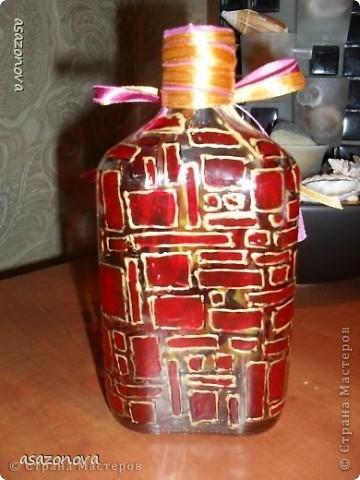 Вазочка-бутылочка фото 2