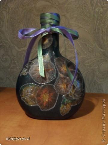 Вазочка-бутылочка фото 4