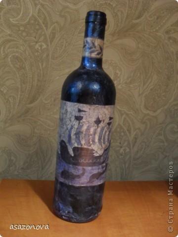 Вазочка-бутылочка фото 5